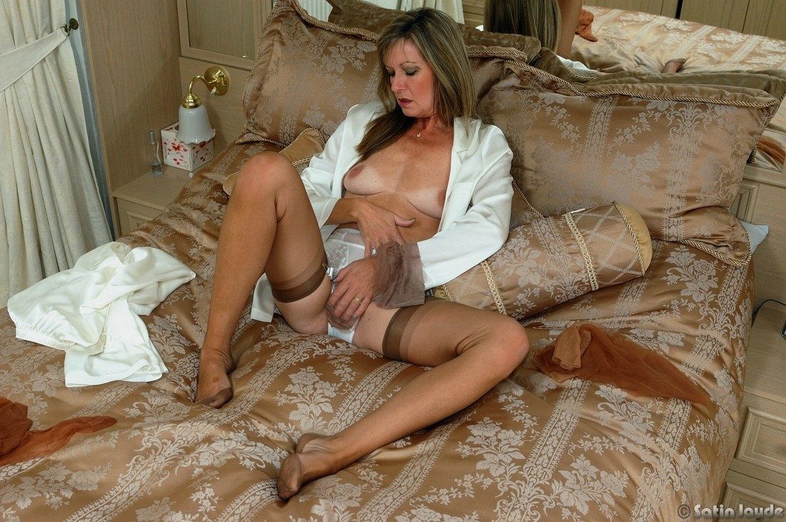 Something milf lingerie satin opinion