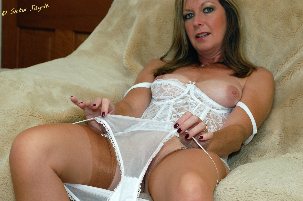 Naked hot crutchless lingerie